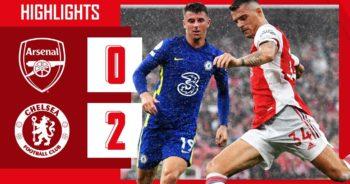 คลิปไฮไลท์ พรีเมียร์ลีก อังกฤษ อาร์เซนอล 0-2 เชลซี