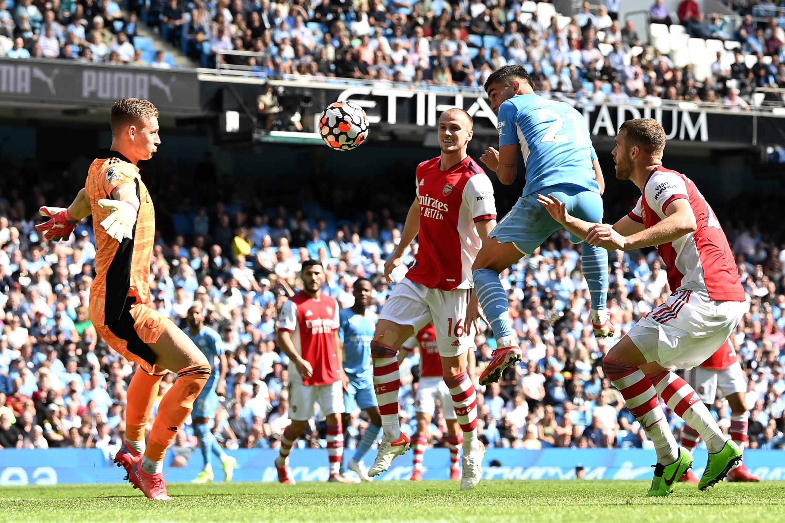 ไฮไลท์ฟุตบอล พรีเมียร์ลีก อังกฤษ แมนเชสเตอร์ ซิตี้ 5-0 อาร์เซนอล