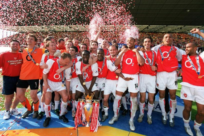 Arsenal Winner of BPL 2003-04